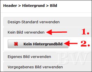 hPage, nPage, HP, Homepage, Design-Editor, Header austauschen, eigenen Header verwenden / einfügen