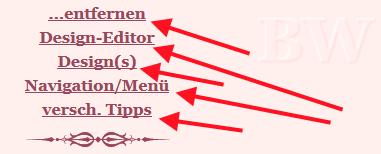 hPage, nPage, HP, Unterstreichung in Navigation entfernen