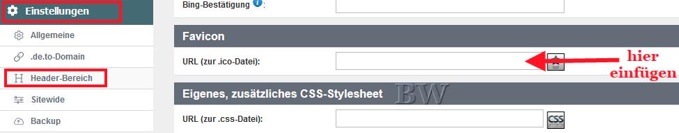 hPage, nPage, HP, Homepage, Favicon, kleines Bildchen im Browser vor Homepage HP Url