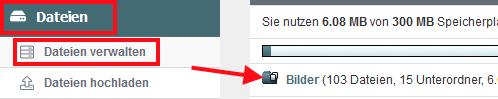 hPage, nPage, HP, Homepage, Grafik als Trennlinie in Navigation, Grafik als Trenner im Menü
