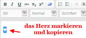 hPage, nPage, HP, Homepage, verschiedene Zeichen vor Menüelemente / Navielemente setzen
