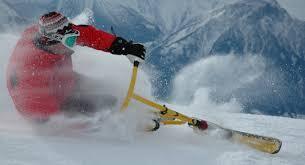 Spass und Action imit dem Snowbike in Wagrain