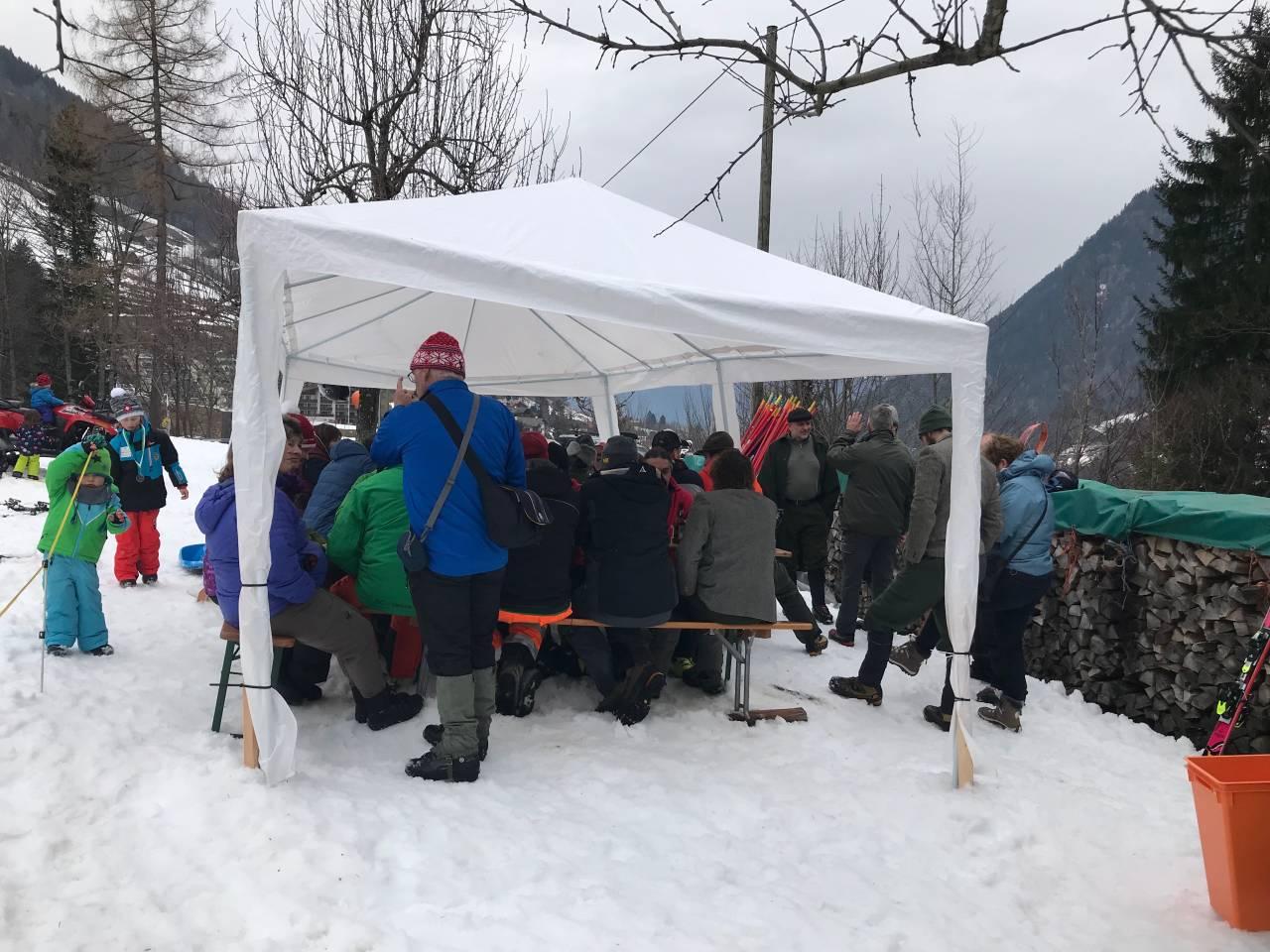 Tschennerrennen 2018 Festwirtschaft