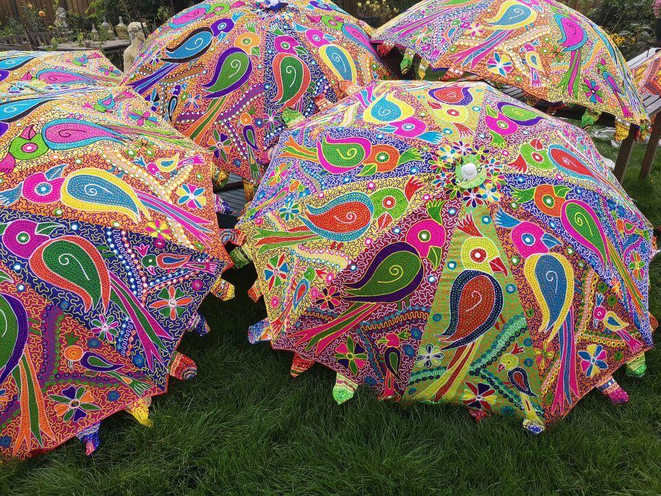 Sfeervolle parasols