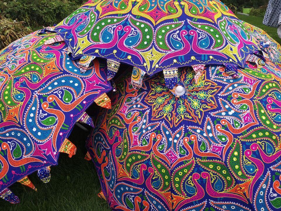 Parasol met een motief