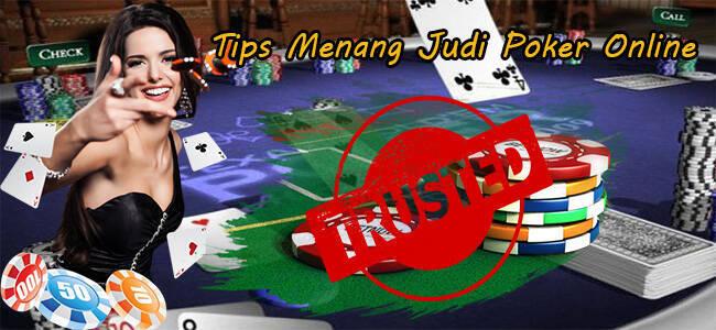 Tips Judi Poker Online Terbaru