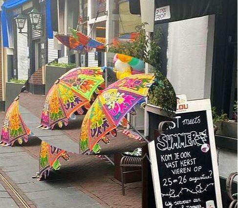 parasol huren, verhuur van parasols