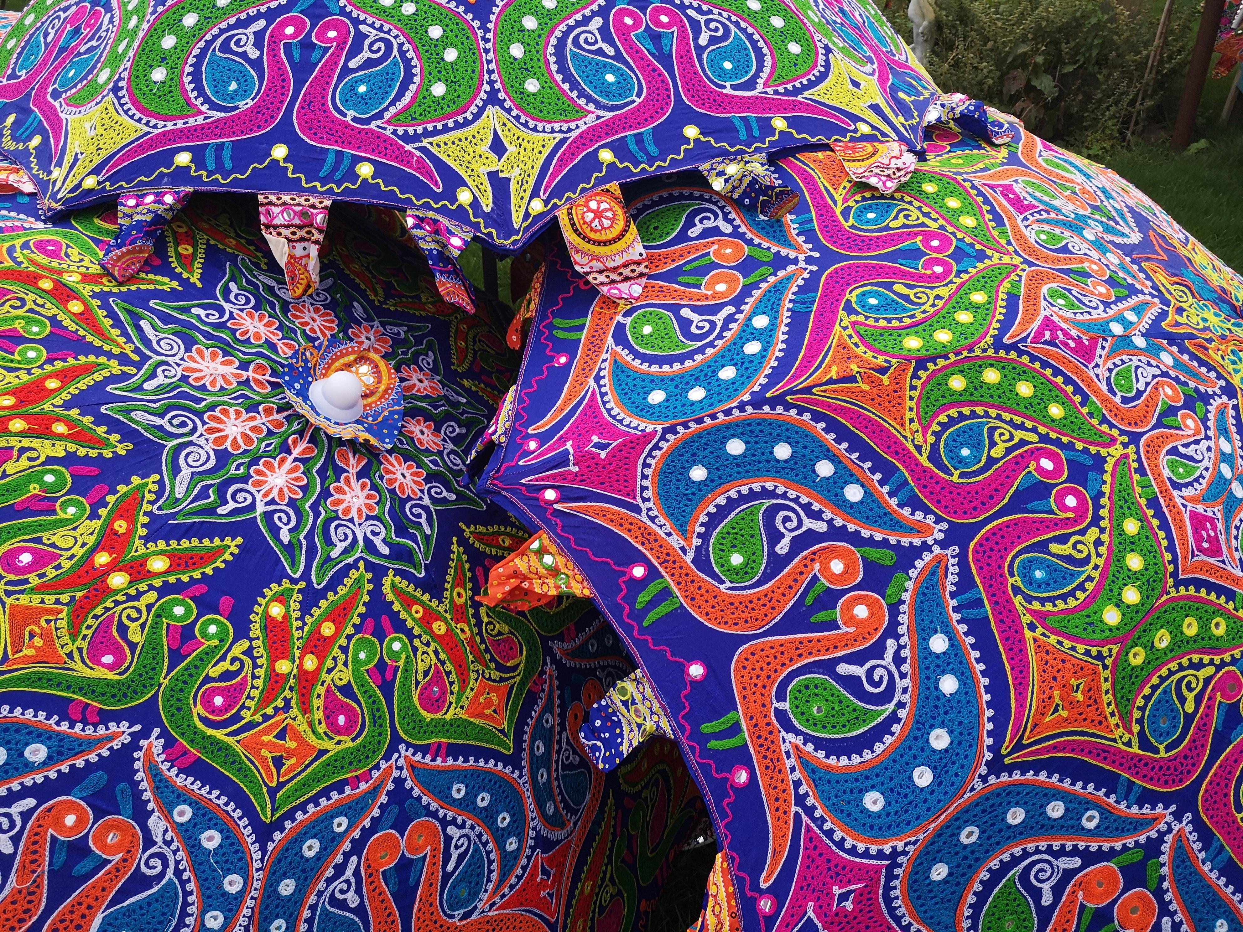afbeelding van een parasol