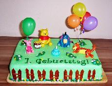 Winnie pooh torte for Winnie pooh kuchen deko